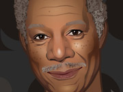 Morgan Freeman Dress Up
