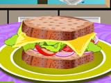 Tasty Turkey Sandwich