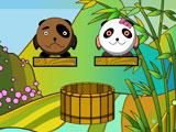 Two Bears in a Barrel