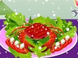 Frozen Crab Decoration