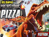 T-Rex Rampage Prehistoric Pizza