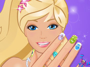 Barbie like monster nails
