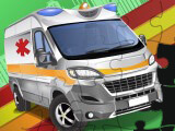 Emergency Van Jigsaw Puzzle