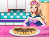 Barbie Chocolate Cake