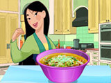 Mulan Makes Noodle Soup