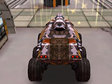 Space Moon Rover 3D Parking