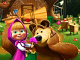 Masha And He Bear House Decoration