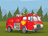 Fireman Forest Rescue