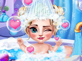 Ice Queen Baby Bath