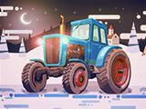 Christmas Tractor Racing