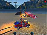 Demolition Cartoon Car Crash Derby Game