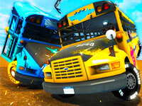 School Bus Demo Derby