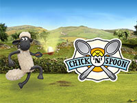 Shaun the Sheep Chick n Spoon