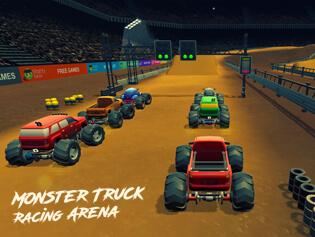 Monster Truck Racing Arena