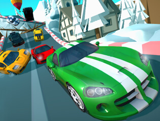 Cartoon Racers: North Pole