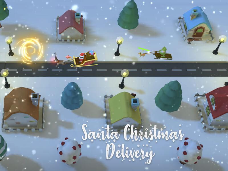 Santa Christmas Delivery