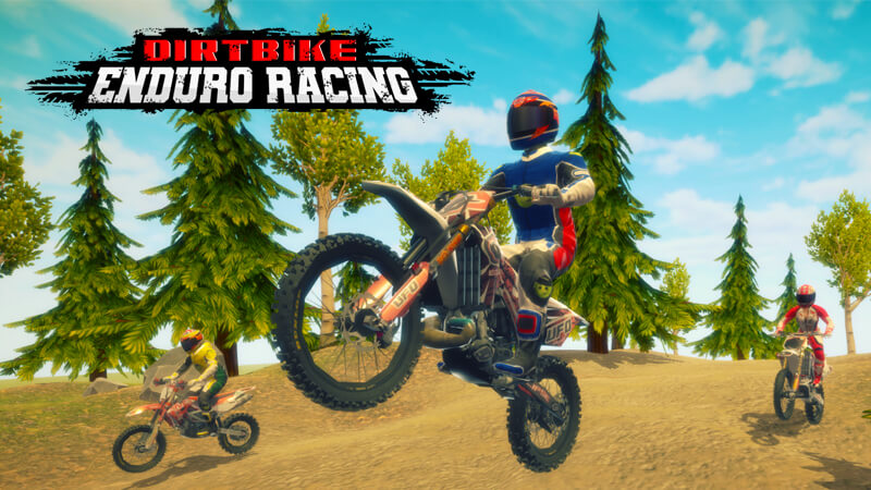 Dirt Bike Enduro Racing